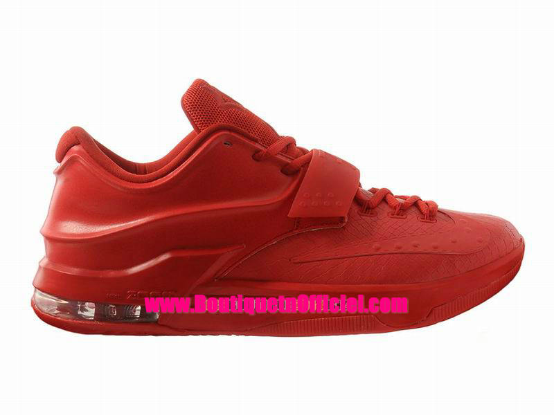 Nike KD VII/7 iD - Chaussures Nike Baskets Pas Cher Pour Homme Gym Rouge