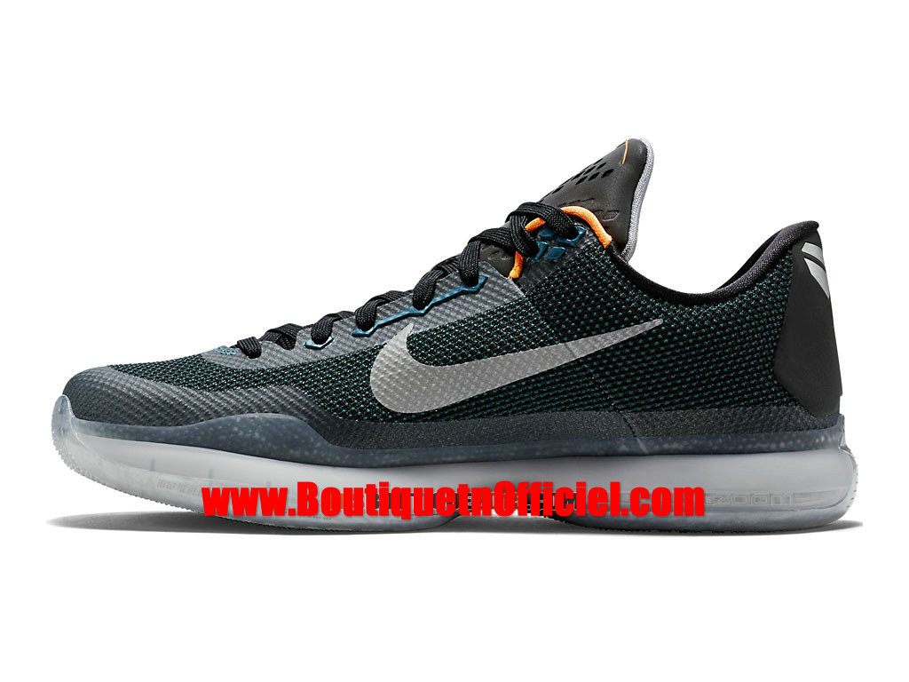 nike kobe 10 x chaussures nike baskets pas cher pour homme turquoise orange brillant blanc. Black Bedroom Furniture Sets. Home Design Ideas