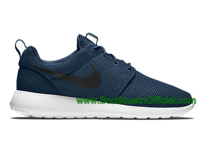 Nike Roshe One Chaussures Pour Homme Bleu/Noir 511881-405