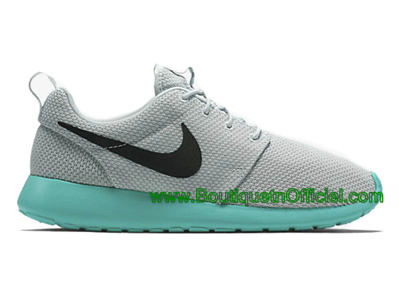 Nike Roshe One Chaussures Pour Homme Gris/Vert 633054-013