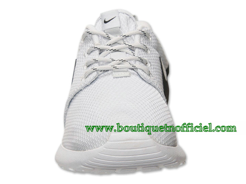 Nike Roshe One GS Chaussures Nike Pas Cher Pour Femme Blanc/Noir 511882-081
