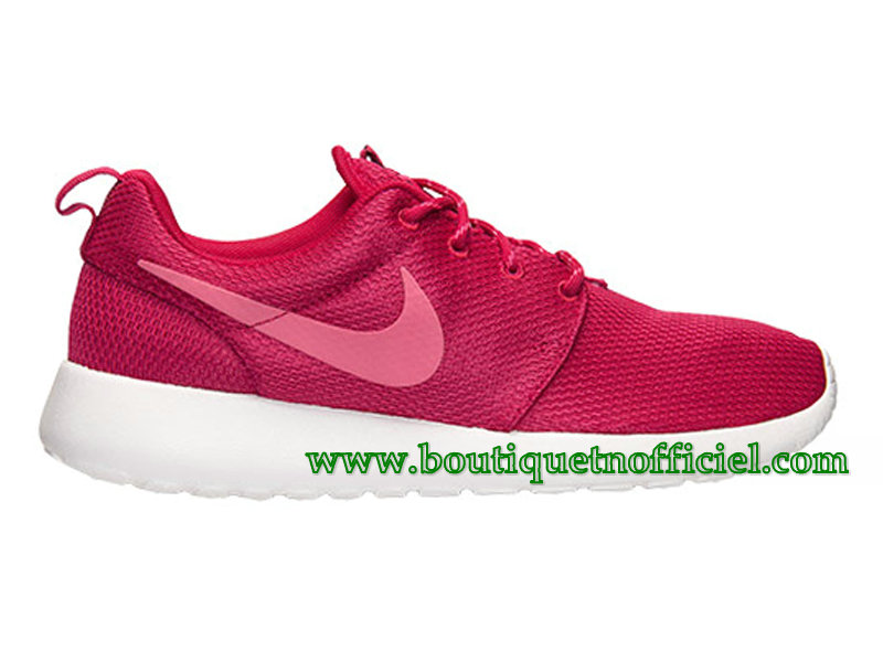 Nike Roshe One GS Chaussures Nike Pas Cher Pour Femme Rouge 511882-661