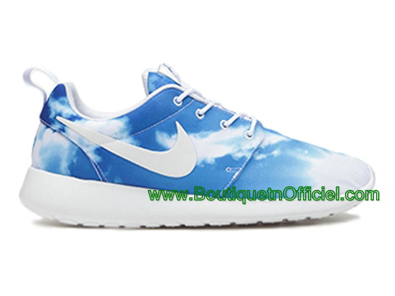 finest selection 3170d 01032 Nike Roshe Run One Chaussures Pour Homme Bleu 511881-114-1507081646 ...