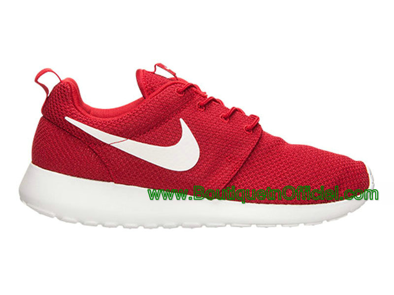 best website cbf62 93ff4 Nike Roshe Run One Chaussures Pour Homme Rouge 511881-601-1507081648 ...