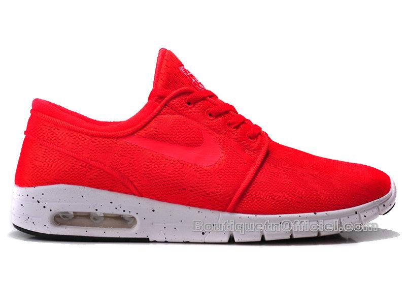 Nike SB Stefan Janoski Max Chaussures Pour Homme Lite Crimson 631303 661 Officiel Nike Site! Chaussures Tn Distributeur France.