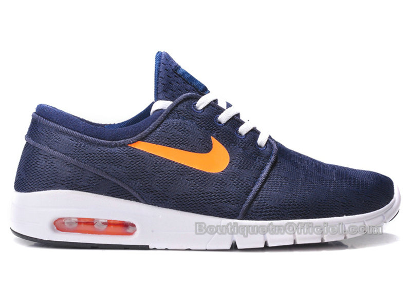 Nike SB Stefan Janoski Max Chaussures Pour Homme New Slate-Mango 631303-418