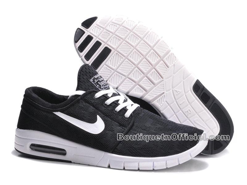 separation shoes 59ebb ce2f5 ... Nike SB Stefan Janoski Max Chaussures Pour Homme Noir/Blanc 631303-010  ...