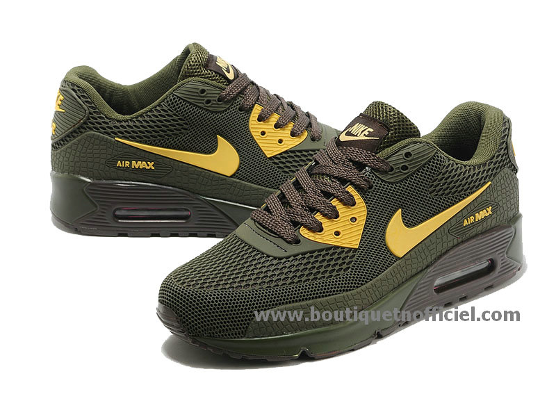 Nike WMNS Air Max 90 Chaussures Officiel Nike Pour Femme Black/Or