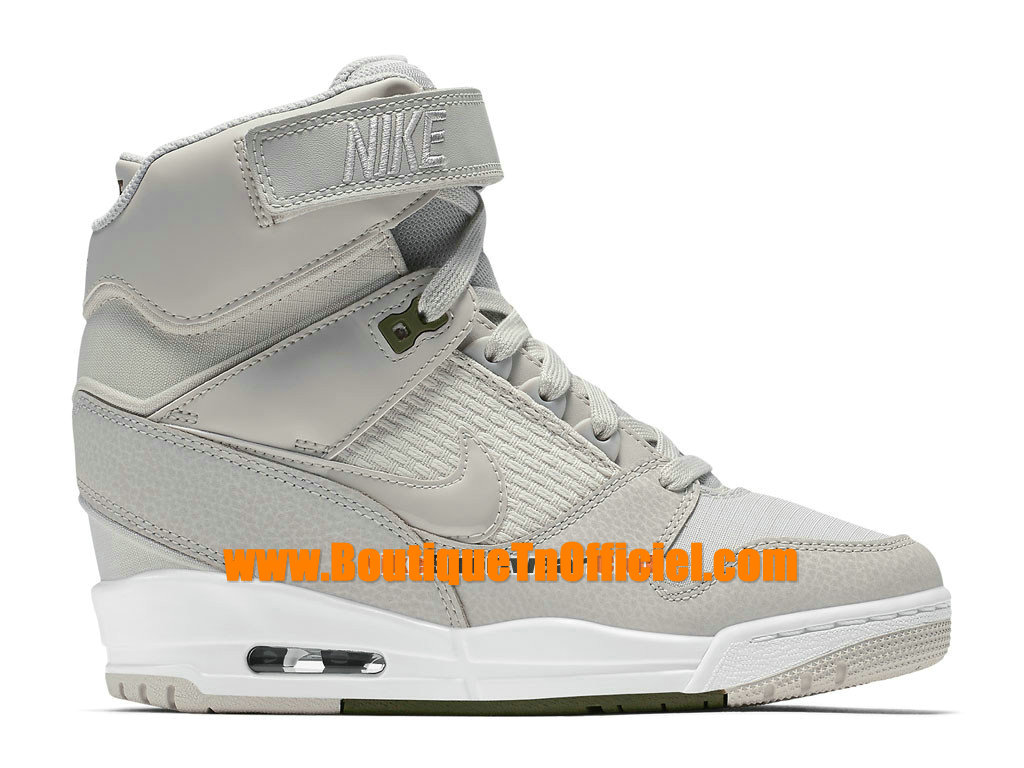 nike wmns air revolution sky hi gs women s nike montante shoes white gery 599410 015 1509211923. Black Bedroom Furniture Sets. Home Design Ideas