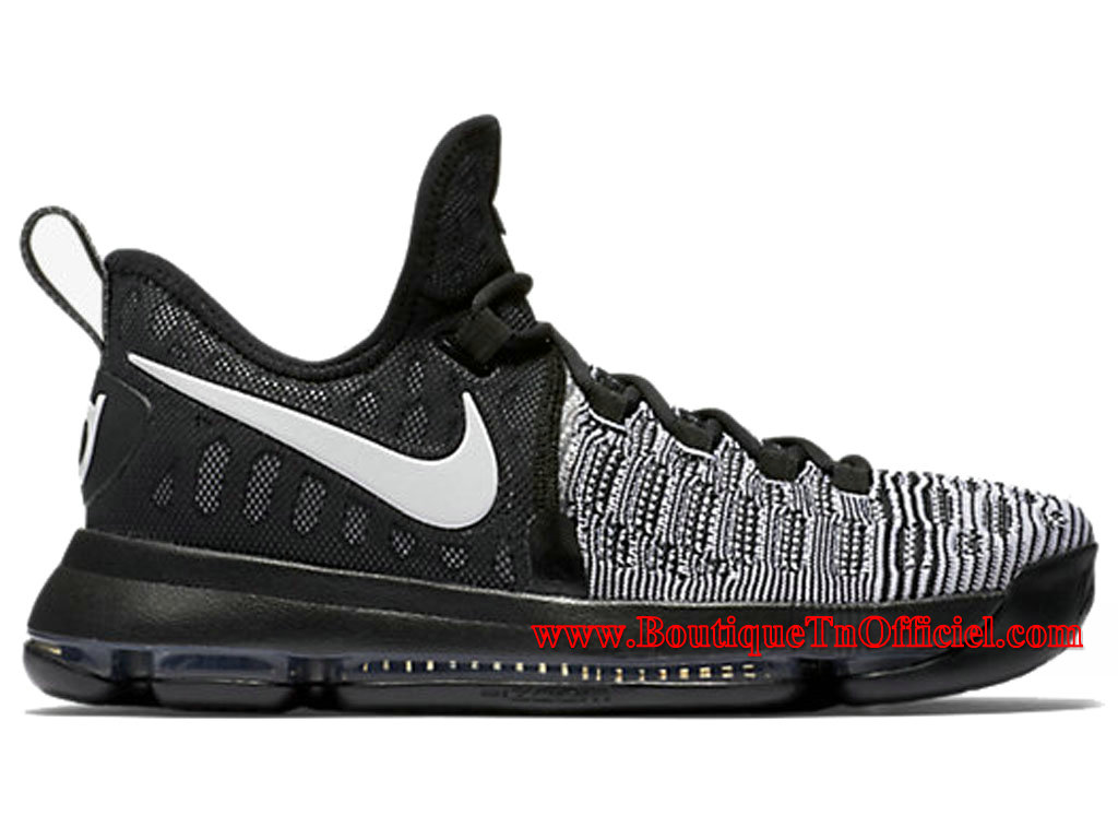 Nike Zoom KD 9 Chaussures NIke Basket Pas Cher Pour Homme Noir 843392-010