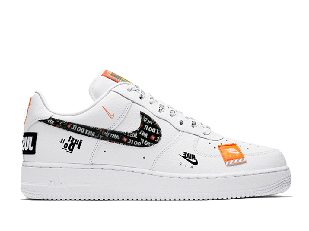 Officiel Nike Air Force 1 ´07 PRM Just Do It White ...