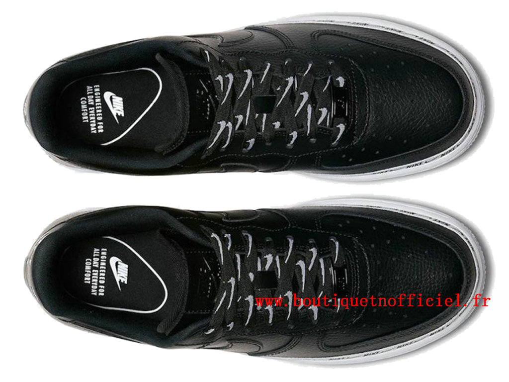 Officiel Nike Air Force 1 Low Ribbon Pack Black Chaussures Nike 2020 Pas Cher Pour Homme AH6827-002