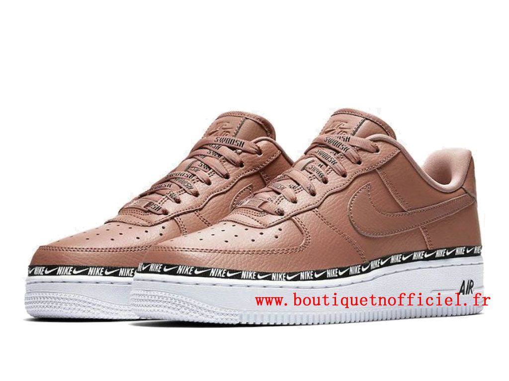Officiel Nike Air Force 1 Low Ribbon Pack Desert Dust Chaussures Nike 2020 Pas Cher Pour Homme AH6827-201