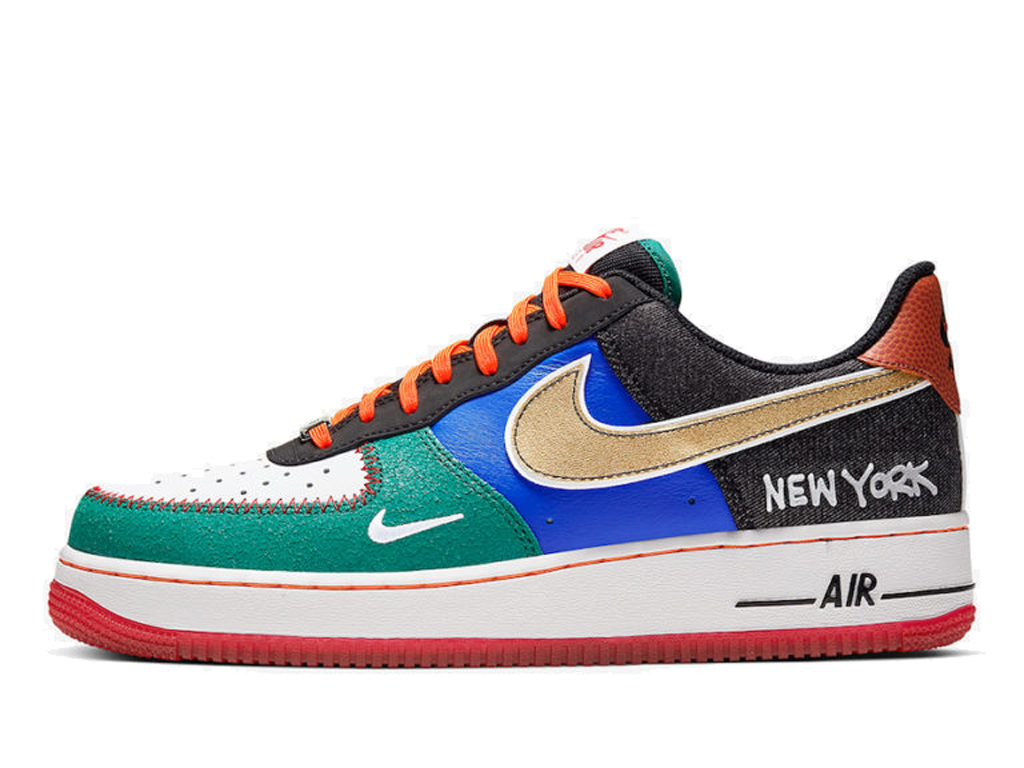 Officiel Nike Air Force 1 Low What The NYC Chaussures Nike 2020 Pas Cher Pour Homme CT3610-100