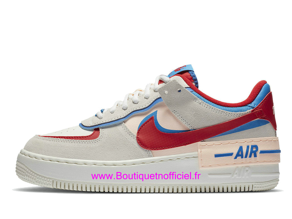 Officiel Nike Air Force 1 Shadow Sail Photo Blue Chaussures Nike Basket Pas Cher Pour Femme/Enfant CU8591-100
