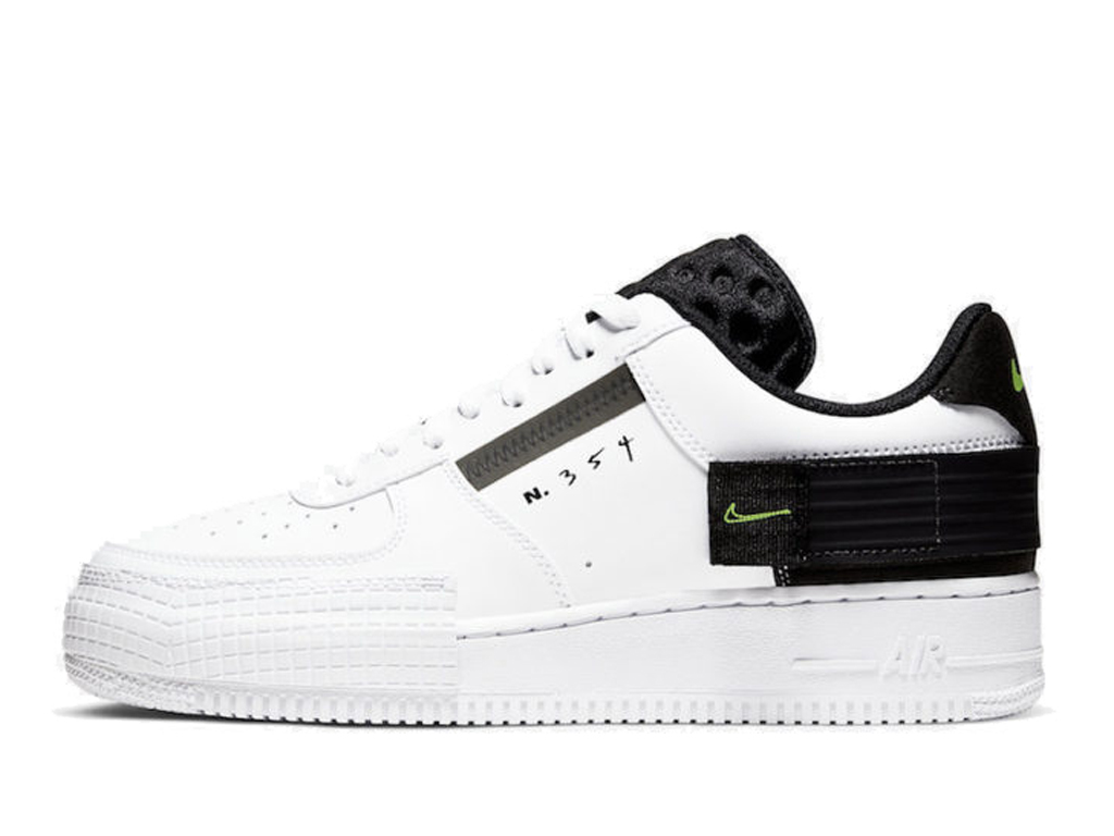Officiel Nike Air Force 1 Type Black Chaussures Nike 2020