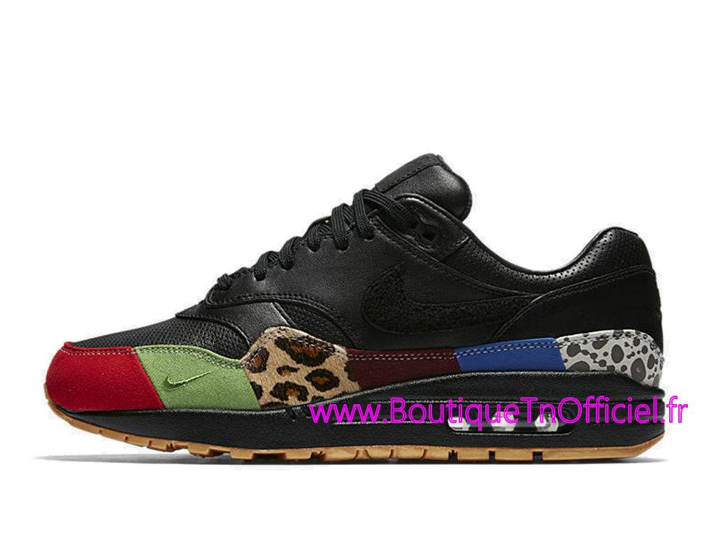 more photos 5a44d 3bcbf ... Officiel Nike Air Max 1 Master Chaussures Nike 2018 Pas Cher Pour Homme  Noir 910772- ...