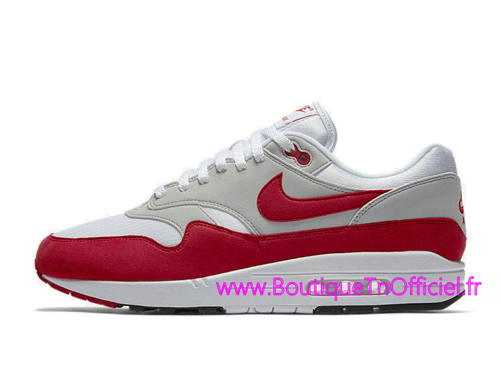 Officiel Nike Air Max 1 OG Red 2017 Chaussures Nike 2018 Pas Cher Pour Homme Rouge Blanc 908375 100 1805172474 Officiel Nike Site! Chaussures Tn