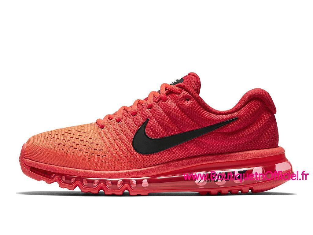 Officiel Nike Air Max 2017 Chaussures de BasketBall Pas Cher Pour Homme Rouge Noir 849559_602 1804032383 Officiel Nike Site! Chaussures Tn