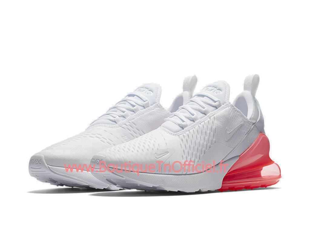 Officiel Nike Air Max 270 Chaussures Nike Prix Pas Cher Pour Homme Blanc Rose AH8050 103 1804152428 Officiel Nike Site! Chaussures Tn Distributeur