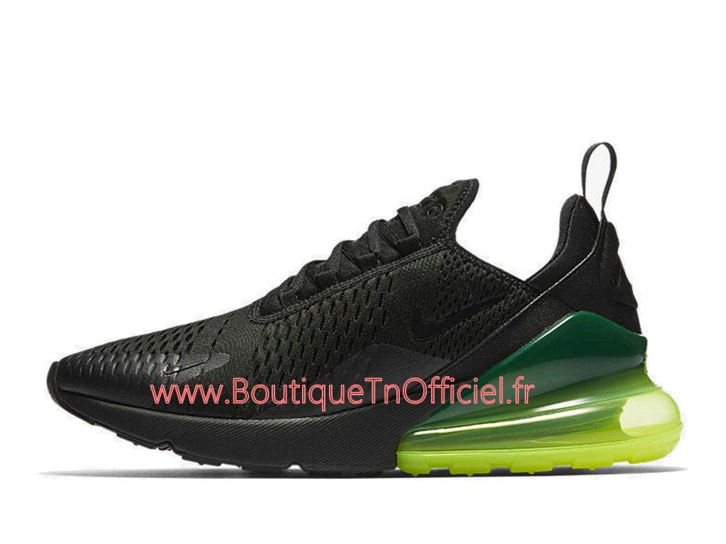 Officiel Nike Air Max 270 Chaussures Nike Prix Pas Cher Pour Homme Noir Vert AH8050 011 1804152426 Officiel Nike Site! Chaussures Tn Distributeur