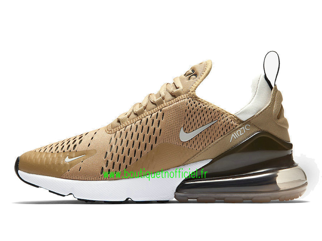 Officiel Nike Air Max 270 Chaussures Nike Running Prix Pas Cher Pour Homme Or AH8050-700