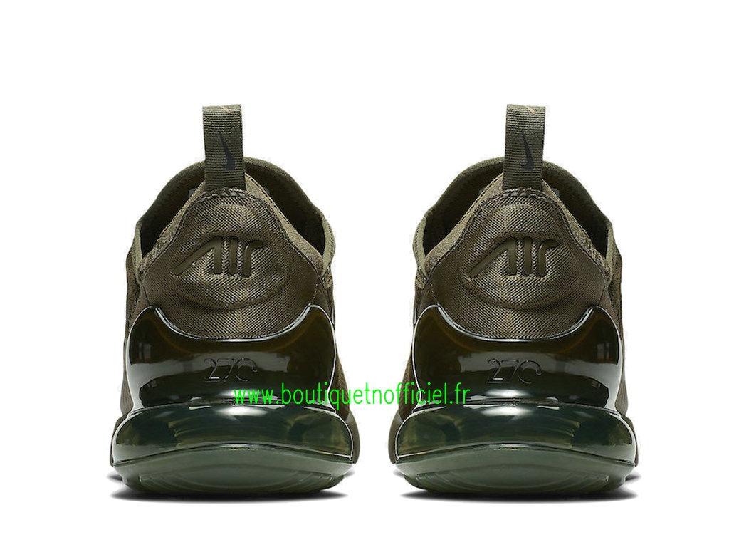 new arrival 4c96a 659ec ... Officiel Nike Air Max 270 Chaussures Nike Running Prix Pas Cher Pour Homme  Vert AH8050-