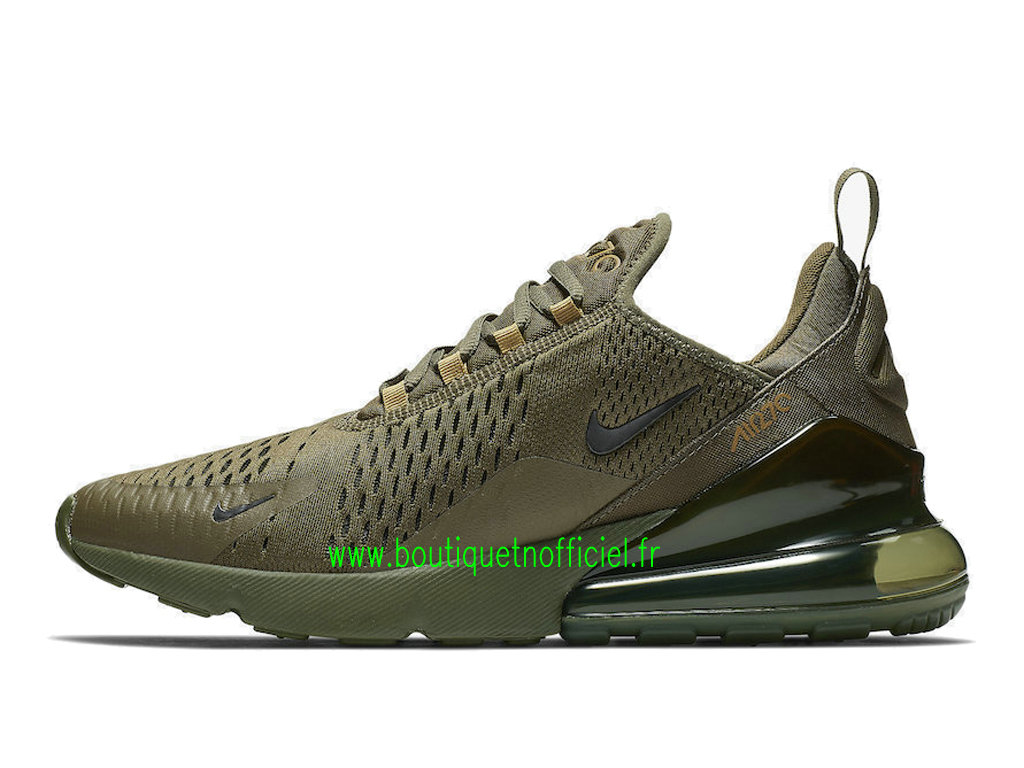Officiel Nike Air Max 270 Chaussures Nike Running Prix Pas Cher Pour Homme Vert AH8050-301