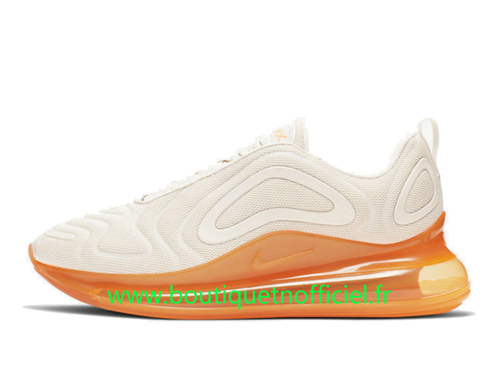 Officiel Nike Air Max 720 Chaussures Nike 2020 Pas Cher Pour Homme Blanc Orange AO2924-102