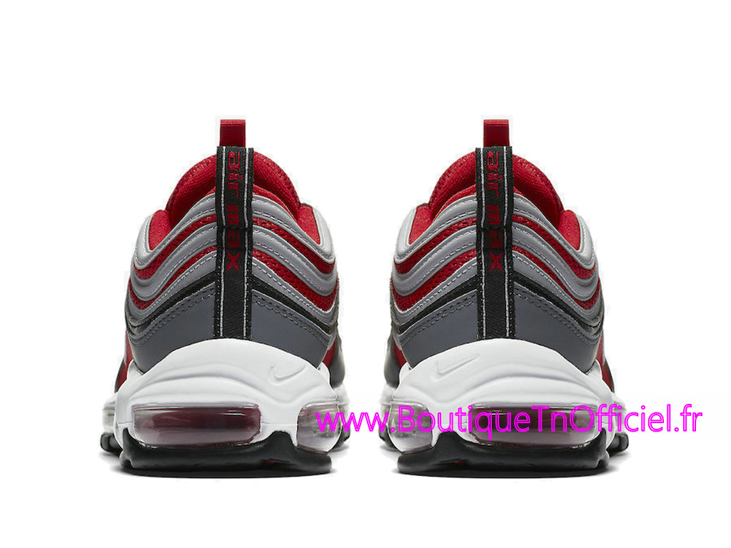 Officiel Nike Air Max 97 Gym Red Chaussures Nike Prix Pas Cher Pour Homme Gris Rouge 921826-007