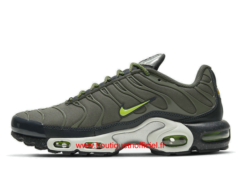 Officiel Nike Air Max Plus/Tn Requin 2021 Chaussures Nike Basket Pas Cher Pour Homme Green White DB4609-300