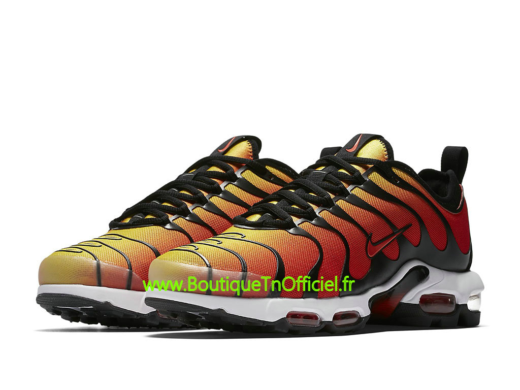 Officiel Nike Air Max Plus TN Ultra Chaussures de BasketBall Pas Cher Pour Homme Orange Noir 898015_004 1804102415 Officiel Nike Site! Chaussures Tn