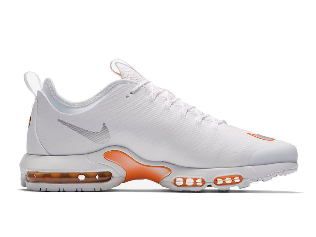 Officiel Nike Air Max Tn Ultra Se Chaussures de BasketBall 2019 Pas Cher Pour Homme Blanc Orange AQ0242 100 1812202512 Officiel Nike Site! Chaussures