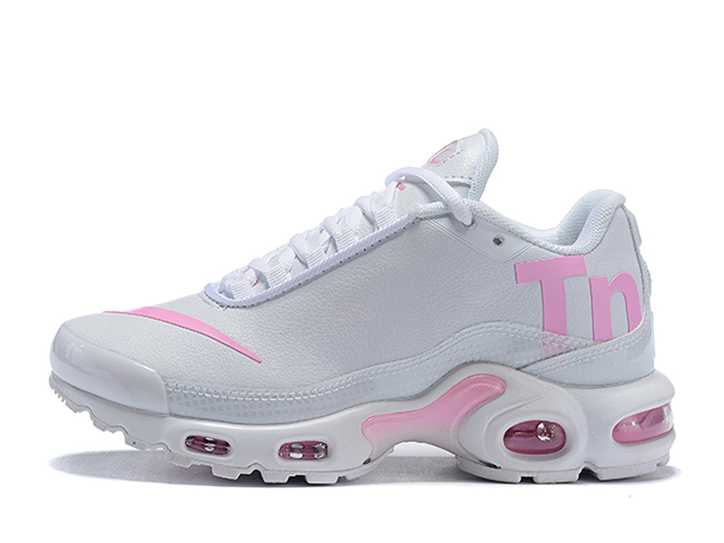 Officiel Nike Air Max Tn Ultra Se Chaussures de BasketBall 2019 Pas Cher Pour Homme Blanc Rose AQ0242-ID5