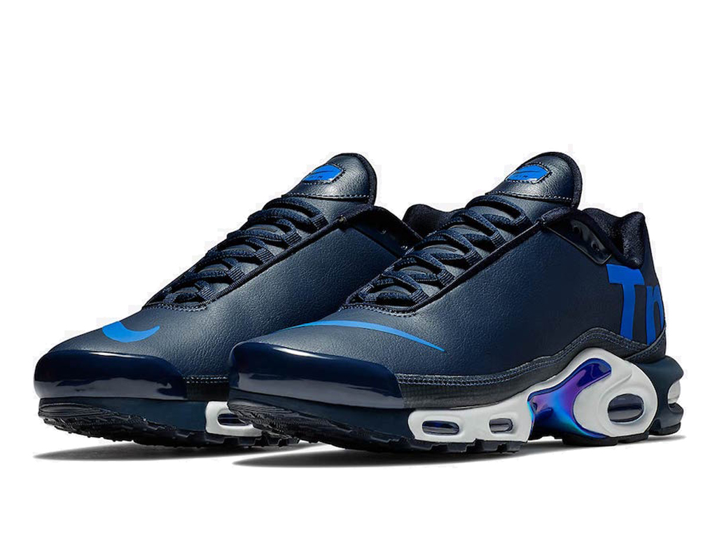 buy popular e9389 21929 ... Officiel Nike Air Max Tn Ultra Se Chaussures de BasketBall 2019 Pas  Cher Pour Homme Bleu ...