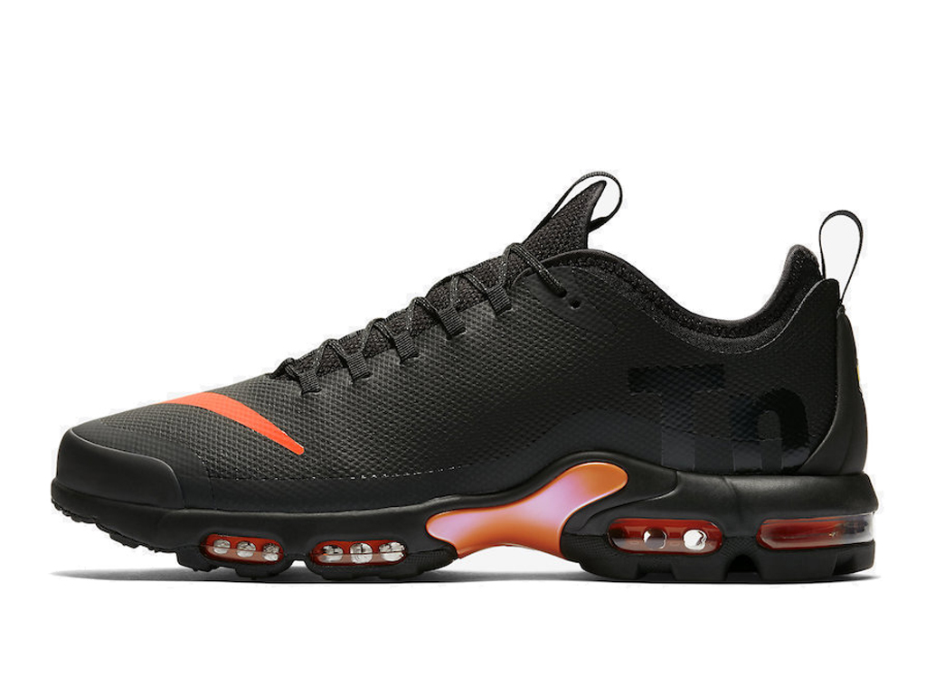 Officiel Nike Air Max Tn Ultra Se Chaussures de BasketBall 2019 Pas Cher Pour Homme Noir Orange AQ0242-001