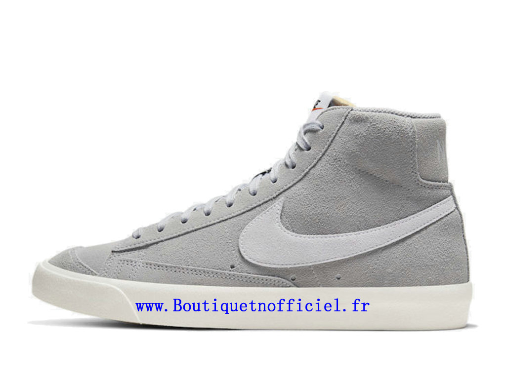 Officiel Nike Blazer Mid '77 Suede Chaussures Nike Running Pas Cher Pour Homme Gris CI1172-001