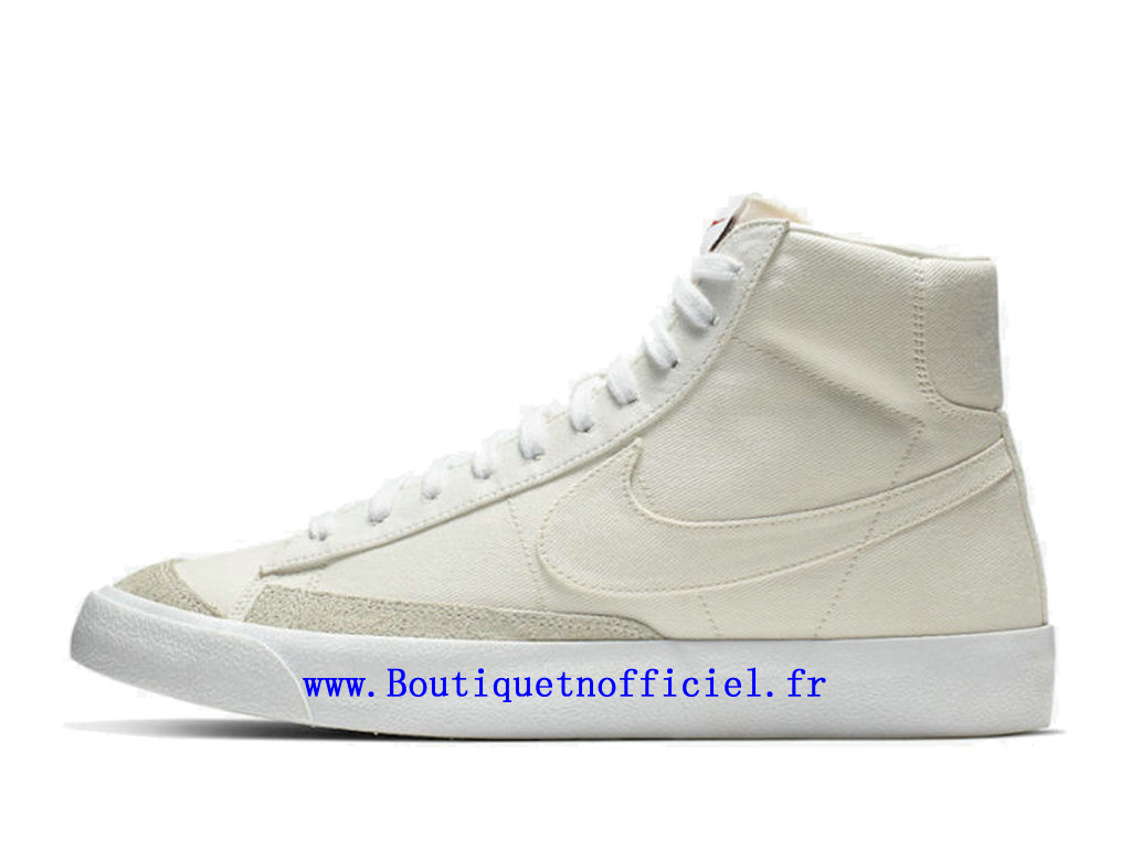 Officiel Nike Blazer Mid 77 Canvas Pack Chaussures Nike Running Pas Cher Pour Homme CD8238-100