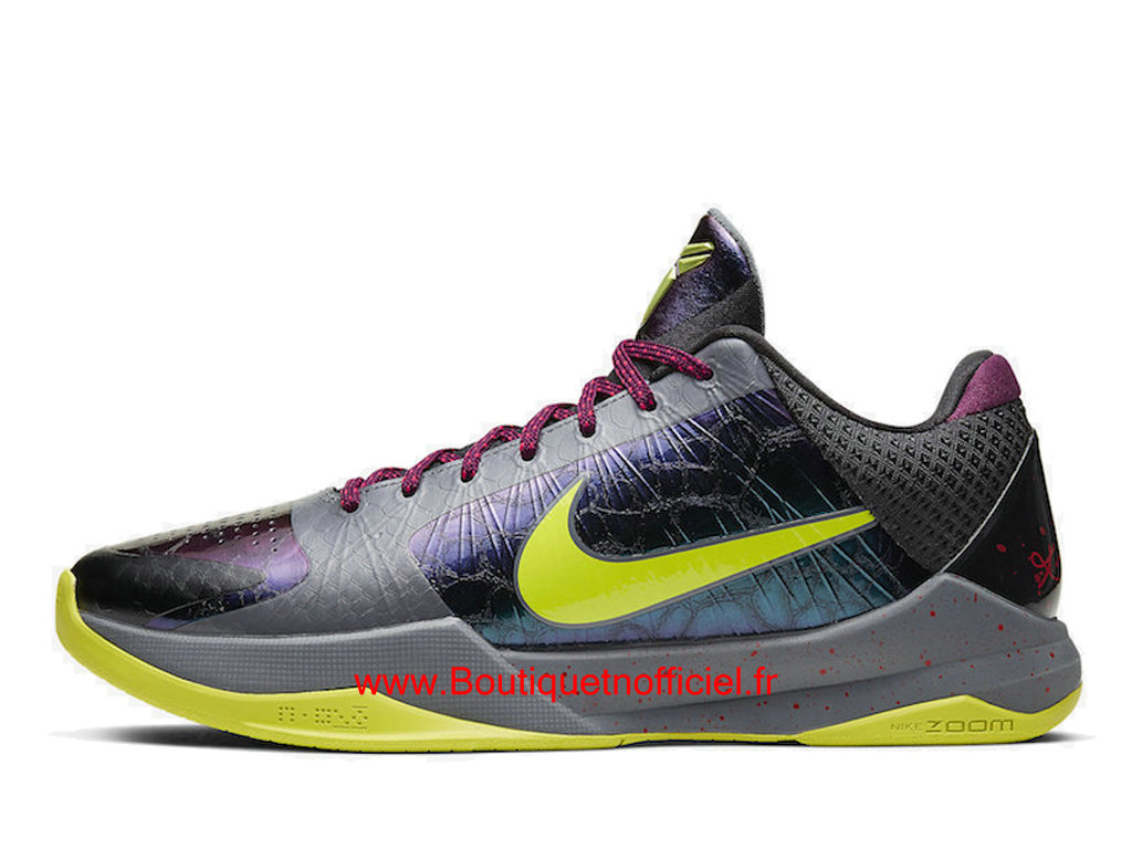 Officiel Nike Kobe 5 Protro 2K Gamer Exclusive CD4991-001 Chaussures Nike Basket Pas Cher Pour Homme