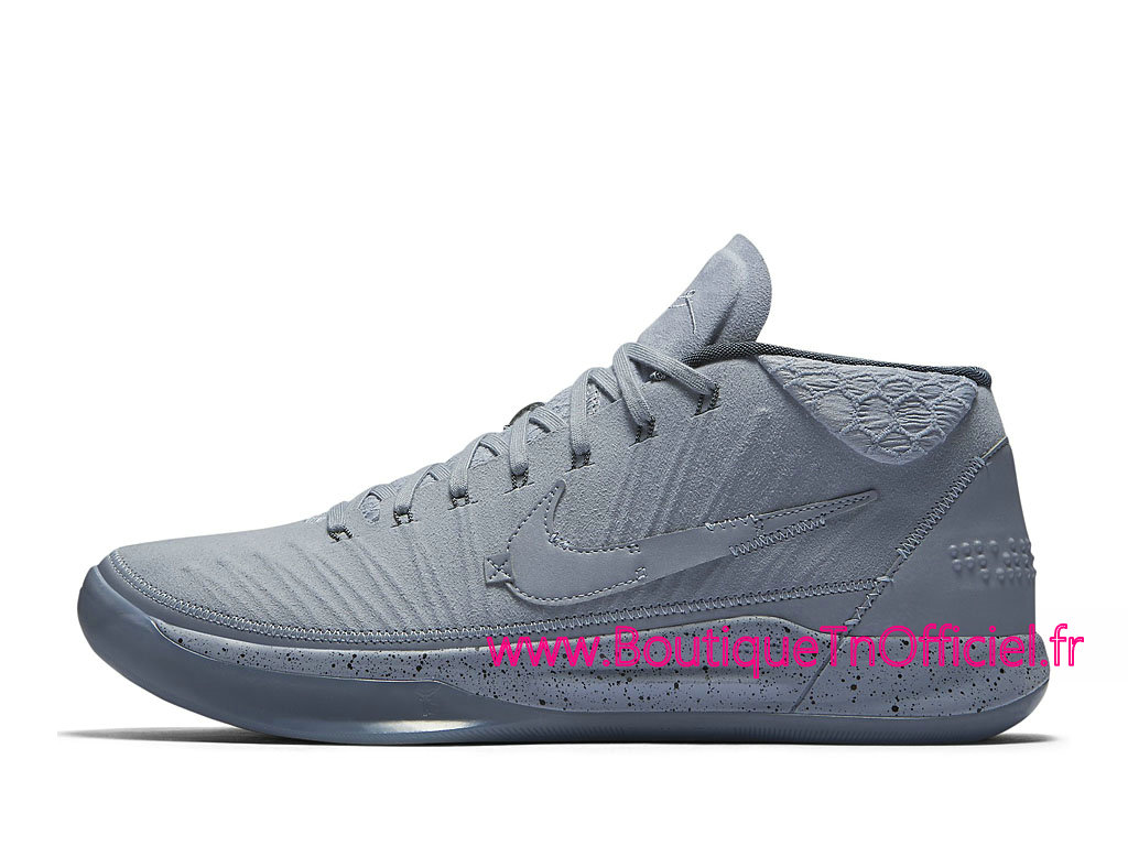 new styles 01537 509df Officiel Nike Kobe A.D. Mid Detached Chaussures Nike Prix Pas Cher Pour  Homme Gris 922482-