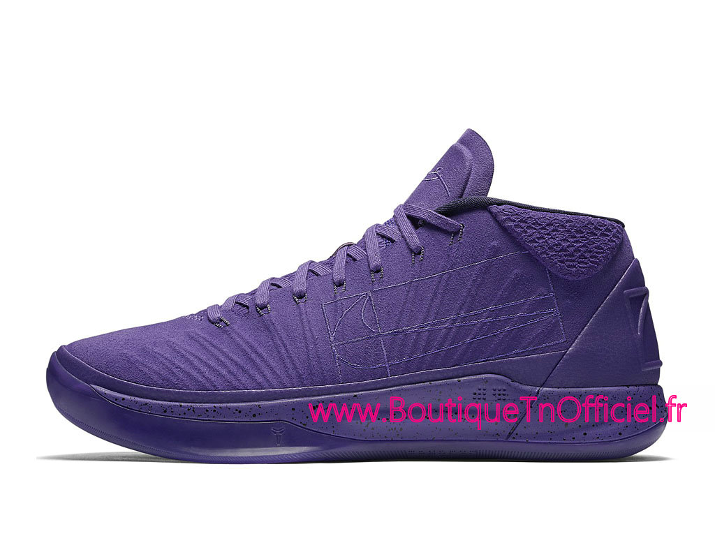 Officiel Nike Kobe A.D. Mid Fearless Chaussures Nike Prix Pas Cher Pour Homme Violet 922482-500