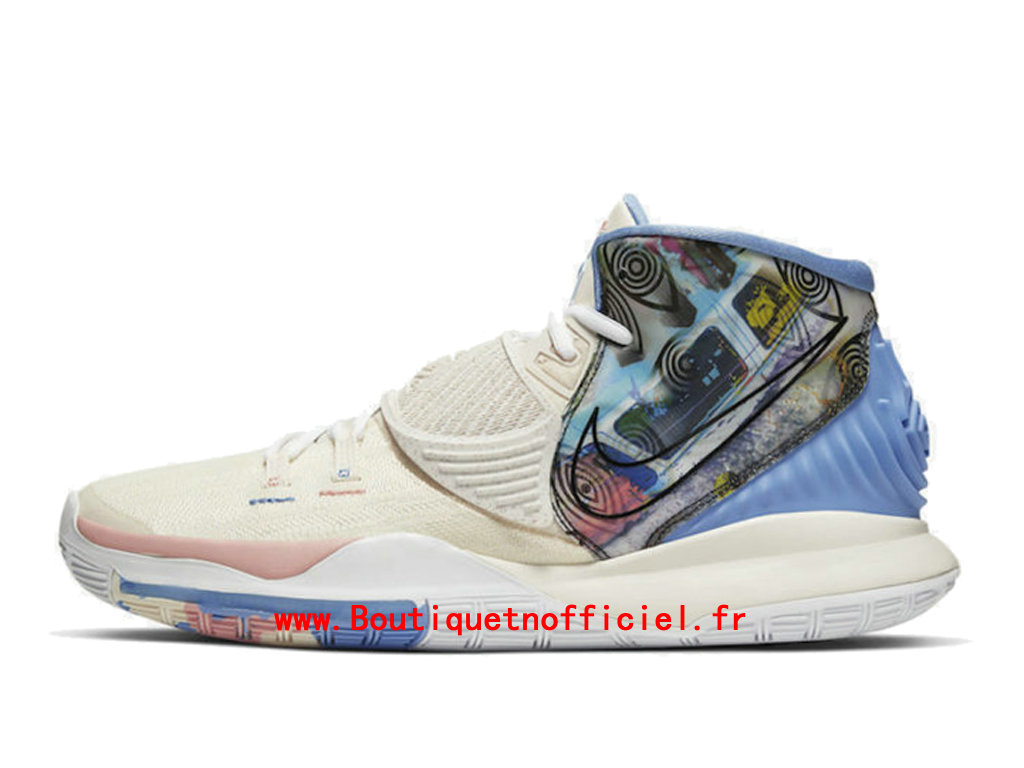 Officiel Nike Kyrie 6 Pre-Heat Los Angeles Chaussures Nike BasketBall Pas Cher Pour Homme CN9839-101