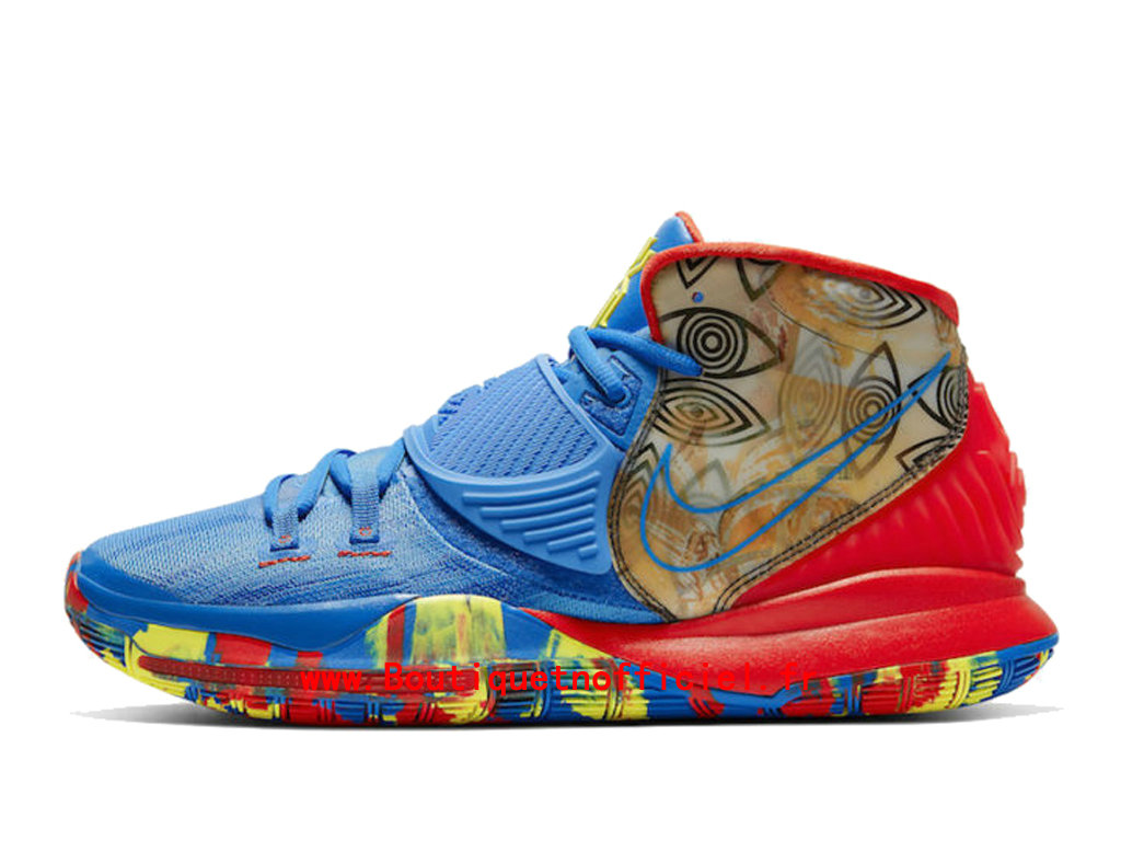 Officiel Nike Kyrie 6 Preheat Collection Guangzhou Chaussures Nike BasketBall Pas Cher Pour Homme CQ7634-409