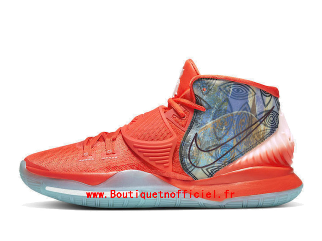 Officiel Nike Kyrie 6 Preheat Collection Manila Chaussures Nike BasketBall Pas Cher Pour Homme CQ7634-801