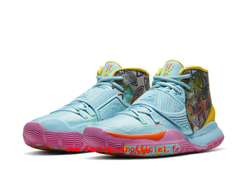 Officiel Nike Kyrie 6 Preheat Collection Miami Chaussures Nike BasketBall Pas Cher Pour Homme CN9839-404