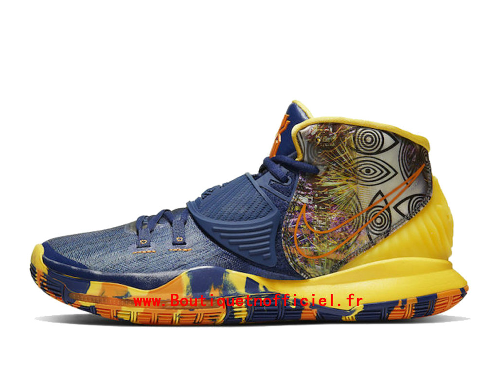 Officiel Nike Kyrie 6 Preheat Collection Taipei Chaussures Nike BasketBall Pas Cher Pour Homme CQ7634-401