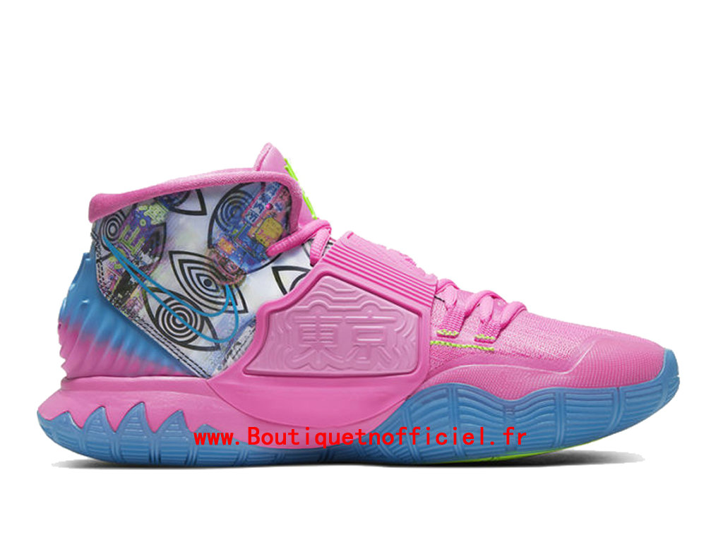Officiel Nike Kyrie 6 Preheat Collection Tokyo Chaussures Nike BasketBall Pas Cher Pour Homme CQ7634-601
