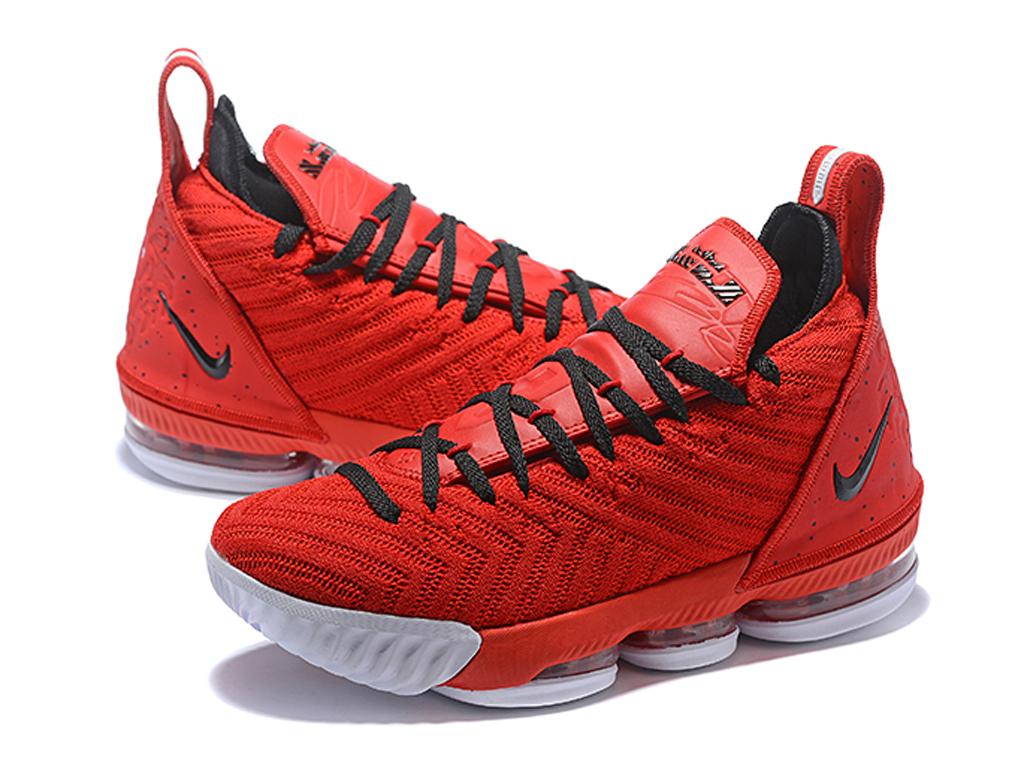 Officiel Nike LeBron 16 Chaussures Nike Basket Pas Cher Pour Homme Rouge Noir 1906202649 Officiel Nike Site! Chaussures Tn Distributeur France.