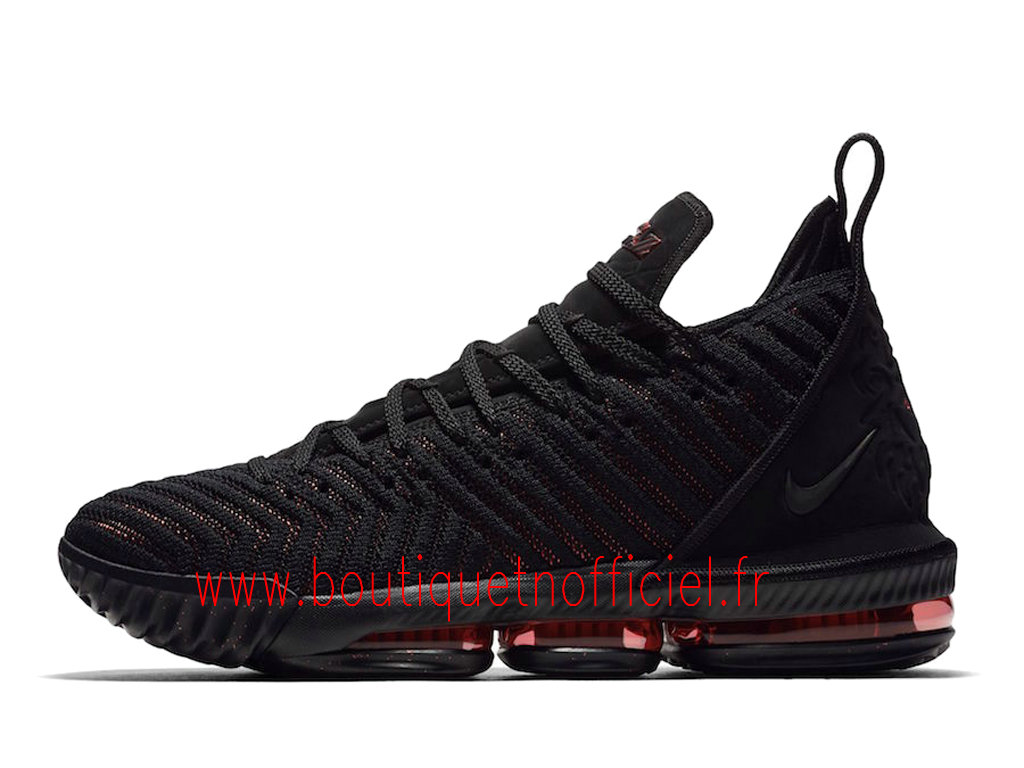 Officiel Nike LeBron 16 Fresh Bred Chaussures Nike Basket Pas Cher Pour Homme AO2588-002