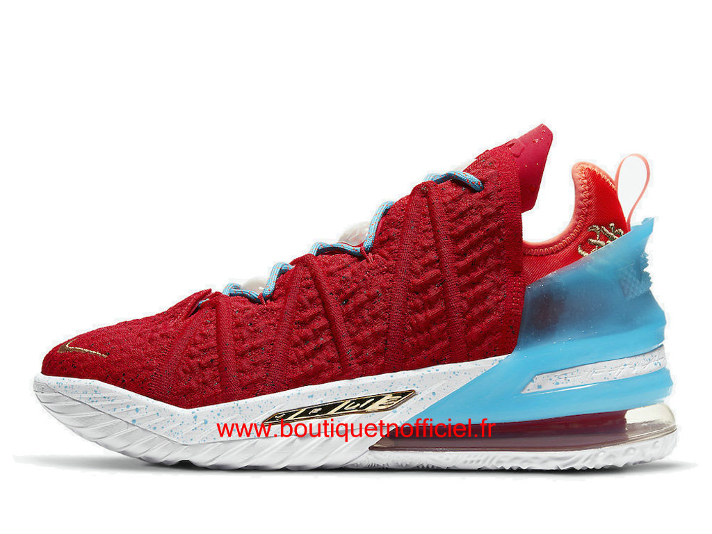 Officiel Nike Lebron 18 Gong Xi Fa Cai Chaussures Nike Sneaker Pas Cher Pour Homme CW3155-600